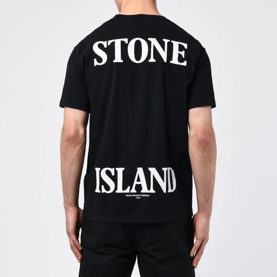 Мужская футболка Stone Island 7215 Graphic Seven Black