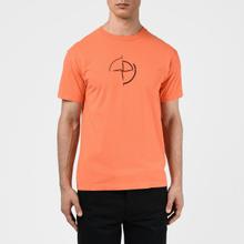 Мужская футболка Stone Island 7215 Graphic Seven Bright Orange фото- 2