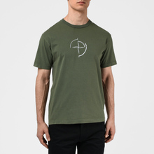 Мужская футболка Stone Island 7215 Graphic Seven Olive Green фото- 2