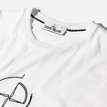 Мужская футболка Stone Island 7215 Graphic Seven White фото- 1