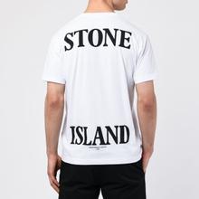 Мужская футболка Stone Island 7215 Graphic Seven White фото- 4