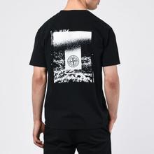 Мужская футболка Stone Island 7215 Graphic Two Black фото- 4