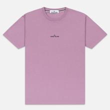 Мужская футболка Stone Island 7215 Graphic Two Quartz Pink фото- 0