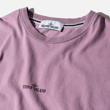 Мужская футболка Stone Island 7215 Graphic Two Quartz Pink фото- 1