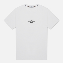 Мужская футболка Stone Island Archivio Project Lino Watro Camouflage White