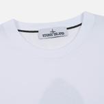 Мужская футболка Stone Island Archivio Project Radiale Esploso White фото- 1