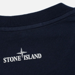 Мужская футболка Stone Island Check Pin Marine Blue фото- 3