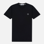 Мужская футболка Stone Island Constellation Abstract Black фото- 0