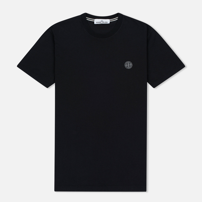 Мужская футболка Stone Island Constellation Abstract Black