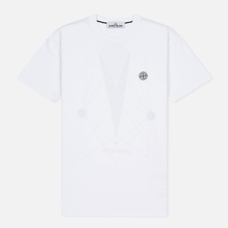 Stone Island Constellation Abstract Men's T-shirt White
