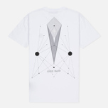 Мужская футболка Stone Island Constellation Abstract White фото- 3