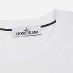 Мужская футболка Stone Island Digital Graph White фото- 1