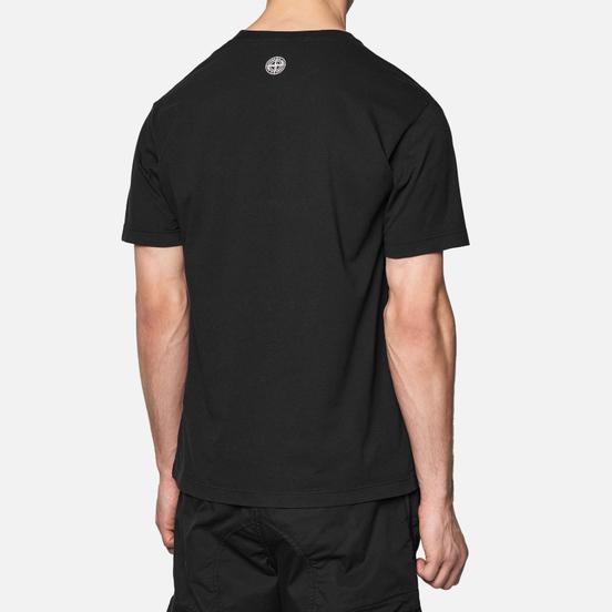 Мужская футболка Stone Island Drone Three Black