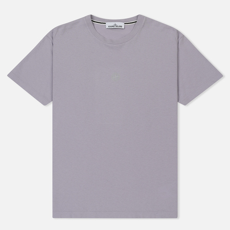 Мужская футболка Stone Island Graphic Eight Lavender