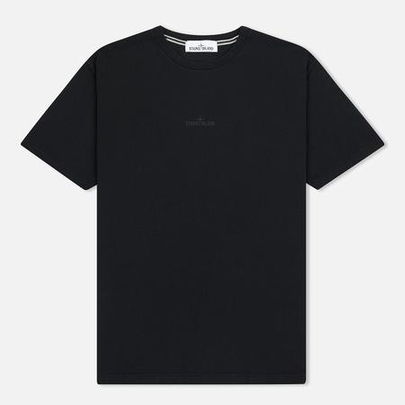 Мужская футболка Stone Island Graphic Logo Black