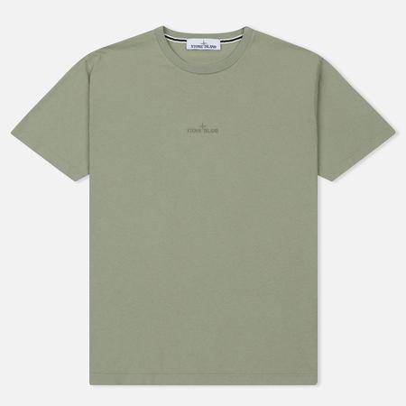 Мужская футболка Stone Island Graphic Logo Sage Green