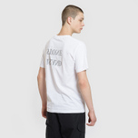 Мужская футболка Stone Island Graphic Logo White фото- 4