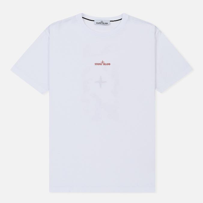 Мужская футболка Stone Island Graphic One White