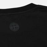 Мужская футболка Stone Island Institutional Black фото- 3