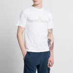 Мужская футболка Stone Island Institutional White фото- 4