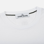 Мужская футболка Stone Island Institutional White фото- 1