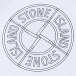 Мужская футболка Stone Island Check Pin White фото- 2