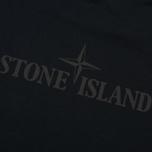 Мужская футболка Stone Island Logo Print Crew Neck Black фото- 3