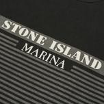 Мужская футболка Stone Island Marina Corrosion Print Black фото- 2