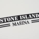 Мужская футболка Stone Island Marina White/Black фото- 2