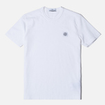 Stone Island Fissato Treatment Men's T-shirt White photo- 0