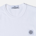 Мужская футболка Stone Island Fissato Treatment White фото- 1