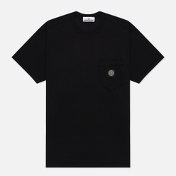 Мужская футболка Stone Island Pocket Patch Black