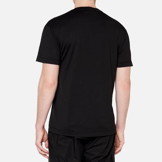 Мужская футболка Stone Island Pocket Patch Black