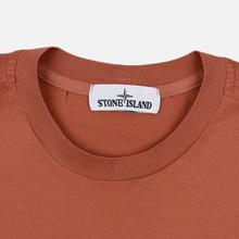Мужская футболка Stone Island Pocket Patch Rust фото- 1