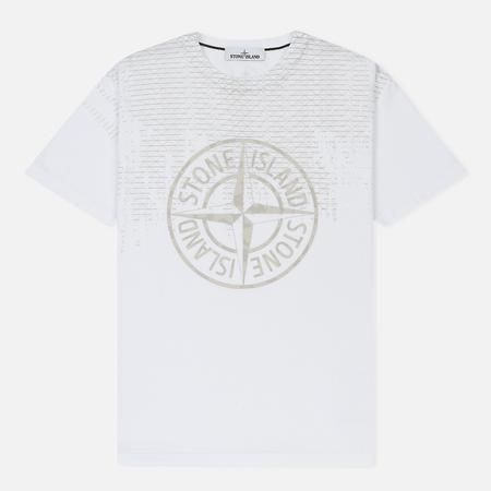 Мужская футболка Stone Island Rust Pin White