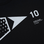 Мужская футболка Stone Island Shadow Project 10th Anniversary Print Graphic Black фото- 2