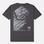 Мужская футболка Stone Island Shadow Project 10th Anniversary Print Graphic Dark Grey фото- 4