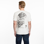 Мужская футболка Stone Island Shadow Project 10th Anniversary Print Graphic Natural White фото- 6