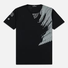 Мужская футболка Stone Island Shadow Project 7119 Print Black фото- 0