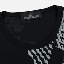 Мужская футболка Stone Island Shadow Project 7119 Print Black фото- 1