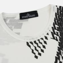 Мужская футболка Stone Island Shadow Project 7119 Print Natural White фото- 1