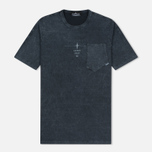 Мужская футболка Stone Island Shadow Project Catch Pocket Anthracite фото- 0