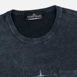 Мужская футболка Stone Island Shadow Project Catch Pocket Anthracite фото- 1