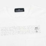 Мужская футболка Stone Island Shadow Project Catch Pocket SS White фото- 1