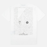 Мужская футболка Stone Island Shadow Project Catch Pocket SS White фото- 4