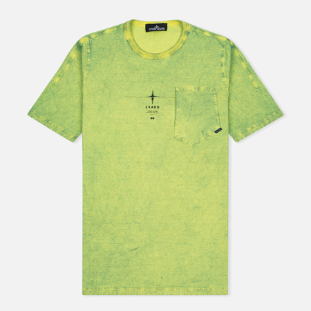 Stone Island Shadow Project Catch Pocket Men's T-Shirt Yellow
