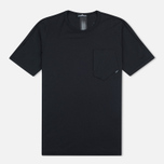 Мужская футболка Stone Island Shadow Project Cotton Crew Black фото- 0