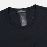 Stone Island Shadow Project Cotton Crew Men's T-shirt Black photo- 1
