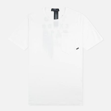 Stone Island Shadow Project Cotton Crew Men's T-shirt White