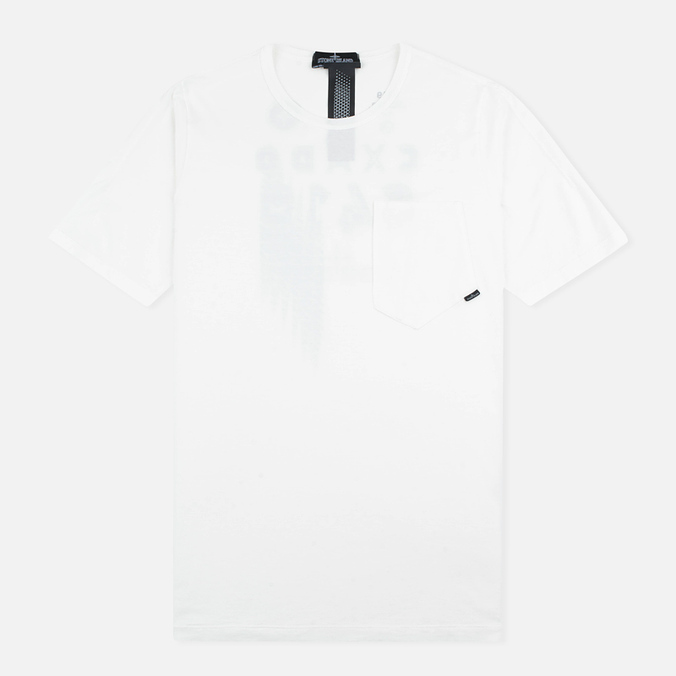 Stone Island Shadow Project Cotton Crew Men's T-shirt White